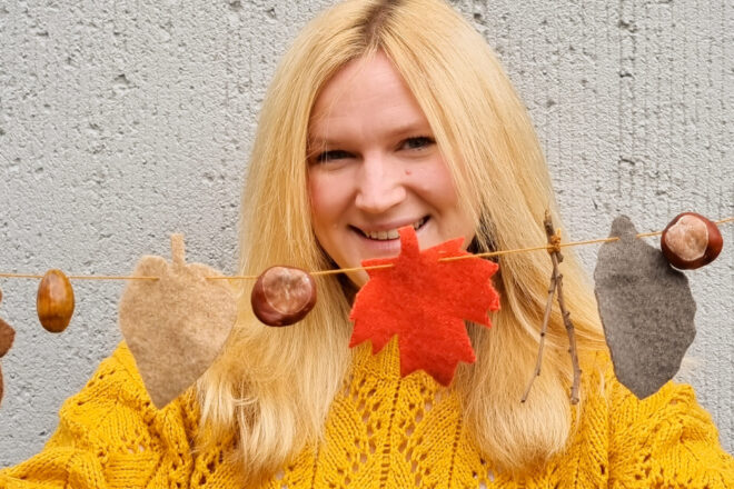 DIY Herbstgirlande